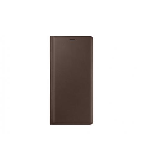 SAMSUNG EF-WN960LAEGWW LEATHER WALLET COVER BROWN