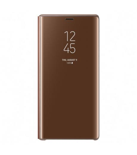 SAMSUNG EF-ZN960CAEGWW CLEAR VIEW COVER BROWN